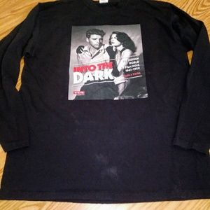 Vintage Film Graphic Tee dbl sided Mens L